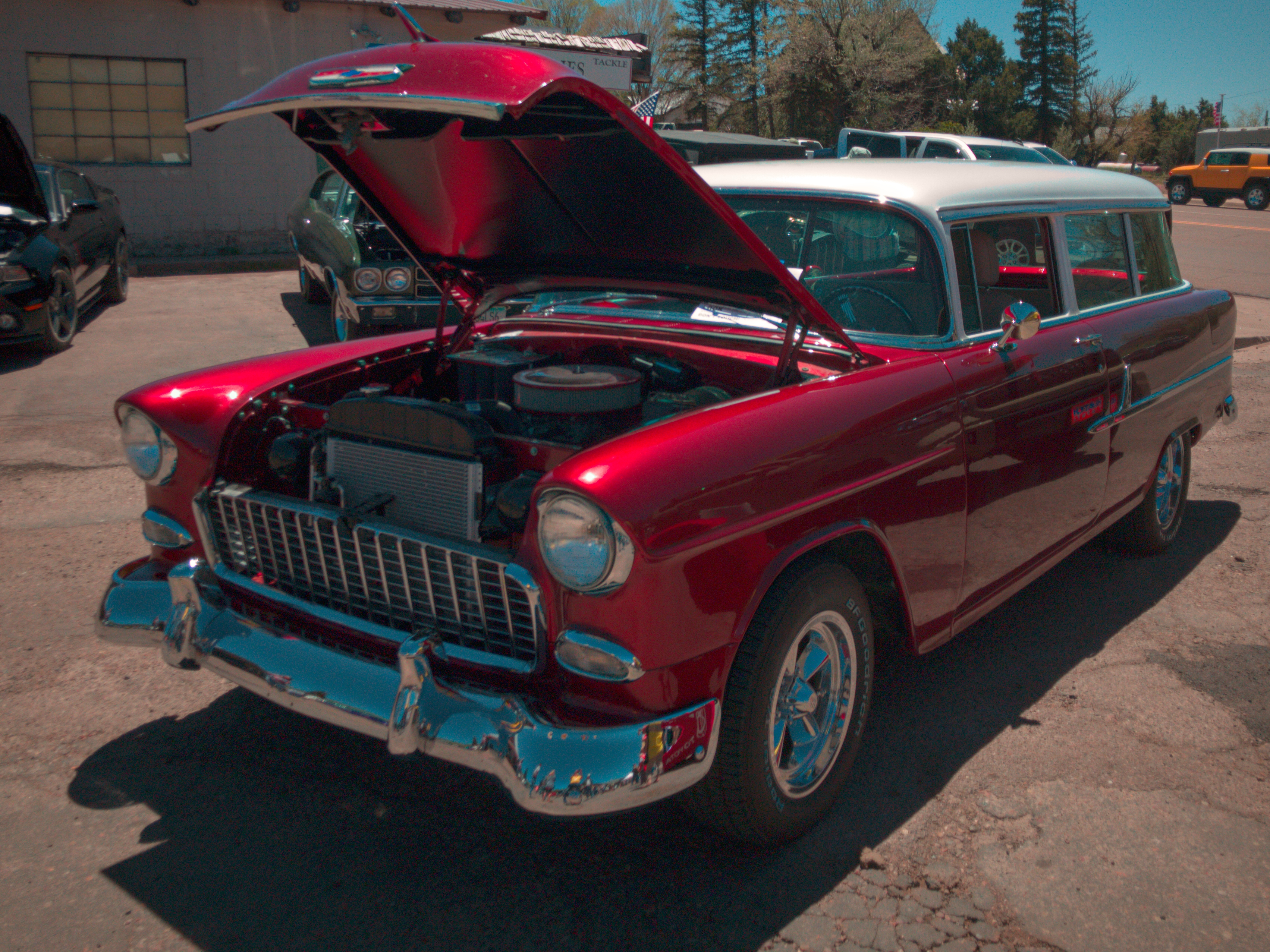 Blast From The Past Car Show Alpine Az