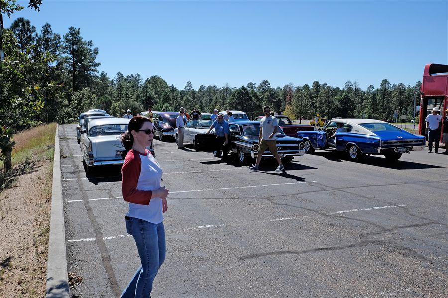 0010 Cars collecting RTTP Parade 2015